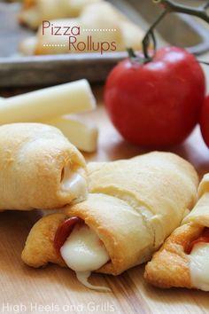 High Heels & Grills: Pizza Rollups