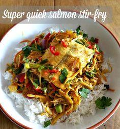 Recipe: Super-quick salmon stir-fry