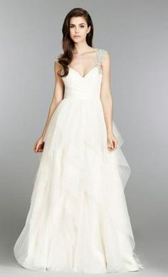 Hayley Paige Carrie: buy this dress for a fraction of the salon price on PreOwnedWeddingDresses.com