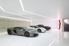 Within the previous ten years that unfavorable view of the garage has actually changed significantly. Climatizing the garage has become far more than an afterthought. Garage House, Dream Garage, Garage Doors, Car Garage, Mansion Homes, Three Story House, Casa Retro, Underground Garage, Michael Bay