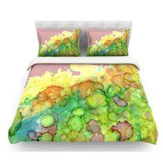 51 X 60 Kess InHouse Rosie Brown Sea Life II Teal Green Wall Tapestry