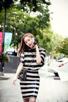YG FAMILYY — LEE SUNG KYUNG - BTS of tvN Cheese in the Trap! Korean Actresses, Korean Actors, Korea Fashion, Girl Fashion, Kpop Fashion, Lee Sung Kyung Fashion, Weightlifting Fairy Kim Bok Joo, Korean Celebrities, Korean Beauty