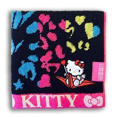 広島限定 ハローキティ ジャガードタオル カラフル(Japanese Hello Kitty Towel)