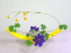 Japanese Ikebana flower arrangement in Zayah World