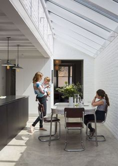 When a couple approached Mustard Architects about transforming a Victorian terrace house into a modern home, they were aware that it was a tall order. Victorian Terrace House, Victorian Homes, Modern Industrial, Industrial Design, Industrial Interiors, Industrial Office, Vintage Industrial, House Extensions, Open Plan Kitchen