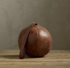 Vintage Leather Boxing Ball
