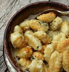 Gnocchi Mac & Cheese - Perfect for a cold winter night - kiddos would LOVE!