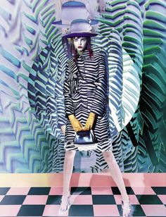 Vogue Italia September 2015 Model: Molly Bair Photographer: Sølve Sundsbø