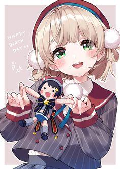 しぐれうい🌂 (@ui_shig) / Twitter Anime Girl Cute, Kawaii Anime Girl, Anime Art Girl, Cute Girl Illustration, Cute Anime Character, Anime Scenery, Character Design References, Manga Girl, Anime Art