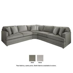 $2,700 sectional, Basset furniture - nice but expensive furniture options here