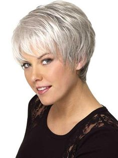 "New Post has been published on hair hairstyles short … ""Amazing Short Silver Gray Hair Hairstyles For Women This summer, the … - Thin Hair Cuts Short Haircut Styles, Best Short Haircuts, Short Hairstyles For Women, Cool Hairstyles, Pixie Haircuts, Grey Haircuts, Gorgeous Hairstyles, Thin Hair Cuts, Short Thin Hair"