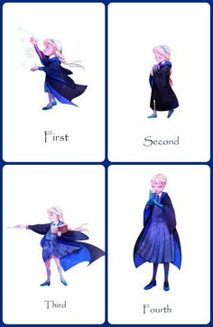 Elsa at hogwarts - Part l