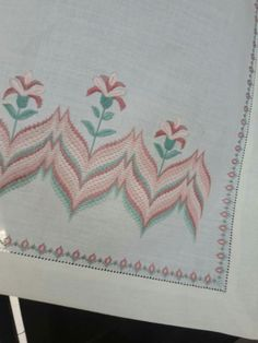 Discover thousands of images about bargello hardanger ile ilgili görsel sonucu Bargello Patterns, Bargello Needlepoint, Needlepoint Stitches, Needlework, Swedish Embroidery, Hardanger Embroidery, Embroidery Stitches, Christmas Embroidery Patterns, Hand Embroidery Designs