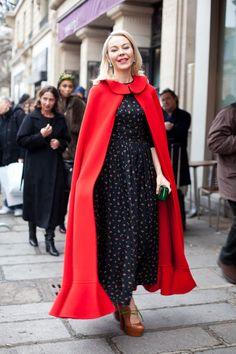 Haute Couture Street Style: Spring 2013 - Ulyana Sergeenko