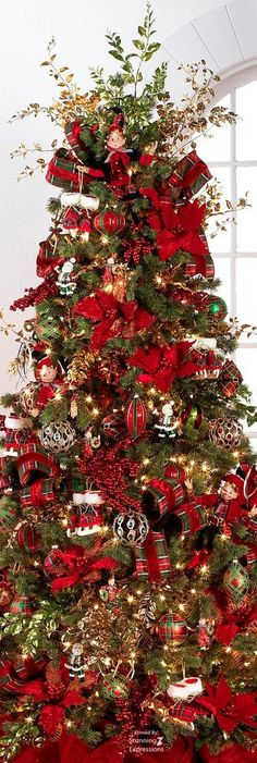 Addobbi Albero Di Natale.45 Fantastiche Immagini Su Decorazioni E Alberi Di Natale