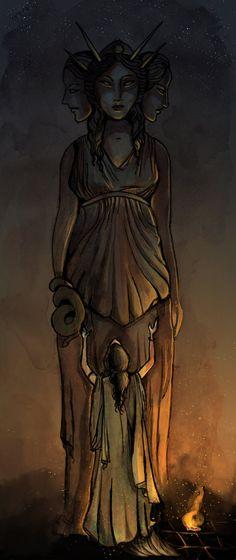 Sacerdotisa de Hécate por Jo-Freyr