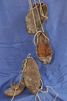 a5c188c13ca4 Latvia, pastalas ancient shoes. They look like small size shoes to me  I