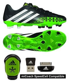 The black and ray green Adidas Predator LZ soccer cleats are one of the top  soccer 2fc8dd41863e5
