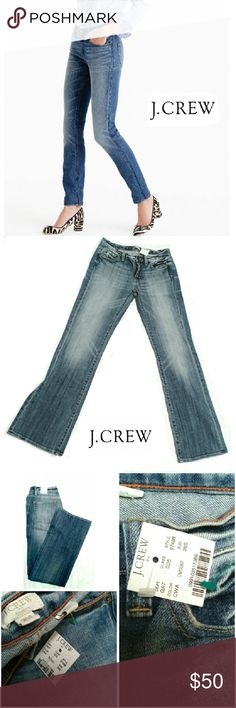 """💕NWT💕 J.CREW MATCHSTICK BOOT CUT JEANS 💕NWT💕   J.CREW  MATCHSTICK BOOT CUT JEANS Image for Similarity  on Wash SIZE 26S RN# 77388 CA# 56448  Style 97488 Approx. Meas;     Waist  14""""    Inseam  30""""    Rise  8""""    Leg Opening 9"""" Pls See All Pics & Measurements. Ask ? If Needed J. Crew Jeans Boot Cut"""
