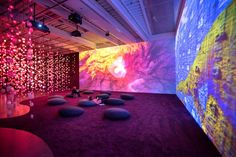 'Pipilotti Rist: Pixel Forest' - The New York Times Projection Installation, Interactive Installation, Video Installation, Projection Mapping, Stage Design, Event Design, Pipilotti Rist, Kitsch, Web Design Quotes