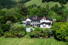 Lady Mary would feel right a home at Otahuna Lodge, New Zealand's largest private historic residence. New Zealand Information, New Zealand Country, Luxury Lodges, Lady Mary, Take The Opportunity, How To Have Twins, Heaven Sent, British Isles, Downton Abbey