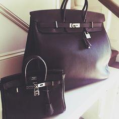 eda97795dbca Like father like daughter HAC 50cm   Birkin 25cm Birkin Bags