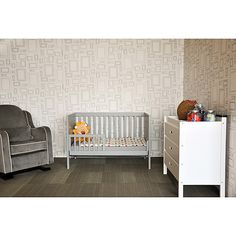Baby Mod - Modena 3-in-1 Fixed Side Crib, Cool Grey Walmart seriously $199