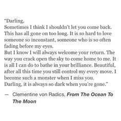 This will probably be me Clementine Von Radics