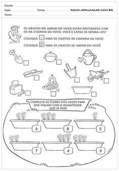 Atividades De Classificacao E Seriacao Atividades Atividades De