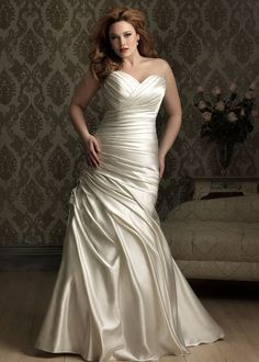Dress style W284 by Allure Bridals.