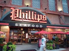 Phillips Seafood, Baltimore, MD