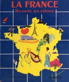 Livre de la France racontée aux enfants,1955 librerie Hachette.France .