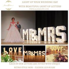 Fairytale Wedding Planning in the UK: Venue Dressing & Props Wedding Props, Wedding Day, Light Up Letters, Beautiful Lights, Love And Light, Fairytale, Retro Fashion, Wedding Planning, Dressing