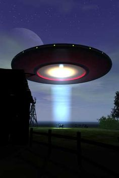 UFO ABOUT TO ABDUCT SOMEONE!! That would be so awesome!