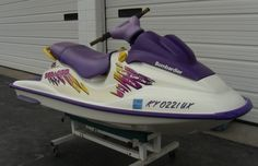 1997 SeaDoo GSX jet ski with trailer, 2 stroke engine. For sale by owner…SOLD! www.HelpSellMyRV.com Louisville Kentucky (502) 645-3124