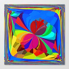 Re-Created ButterfliesXVIII  #Stretched #Canvas by #Robert #S. #Lee - $85.00