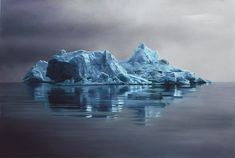 Iceberg Drawings by Zaria Forman Fulfill Late Mother's Dream And Raise Awareness On Climate Change
