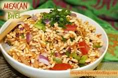 Simple Living Worth Telling !: MEXICAN BHEL