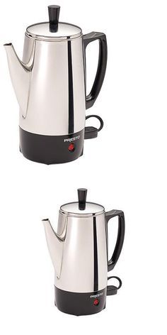 Percolators and Moka Pots 116012: National Presto Ind 02822 Coffee Percolator, Stainless Steel, 6-Cup -> BUY IT NOW ONLY: $102.01 on eBay!