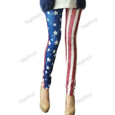 Casual Nylon Flag Tights & Leggings for Women Girl Ladies DCD-264444 http://www.tinydeal.com/index.php?main_page=index&cPath=933&sk=22126987pv