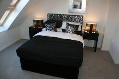 Small Attic Bedroom Idea