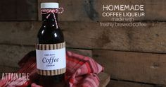 Homemade Kahlua Recipes for Yourself or Gift Giving