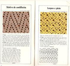 ATELIÊ MAGALI PORTELLA - 1: CADERNO DE PONTOS DE TRICO E CROCHÊ