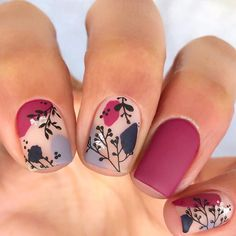 Autumn Nails, Winter Nails, Gel Nail Polish, Gel Nails, Stamping Plates, Mani Pedi, Nailart, Nail Designs, Make Up