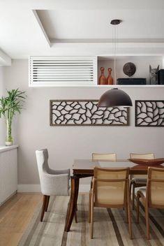 Dicas para esconder o ar-condicionado e a condensadora Living Room Tv, Home And Living, Air Conditioner Cover Indoor, House Design, Interior Design, Furniture, Home Decor, Gladstone, Google