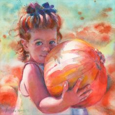 "11 x 14"" or 12 x 12"" Custom Portrait in Watercolor. $190.00, via Etsy."