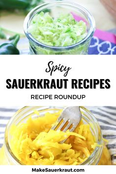 35 of the best homemade sauerkraut recipes. Learn how to make your own sauerkraut at home.Tantalize your taste buds and add probiotics to your meals. Fermented foods for gut health. #cabbagerecipes