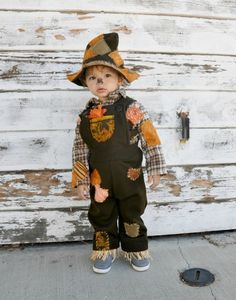 brown scarecrow hallowee costume | zorraindina - Children's on ArtFire