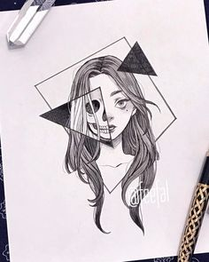 art sketchbook Ana Clara Viana (ana_claaraviana) I - Dark Art Drawings, Pencil Art Drawings, Art Drawings Sketches, Easy Drawings, Tattoo Drawings, Tattoo Sketches, Tumblr Drawings, Random Drawings, Detailed Drawings