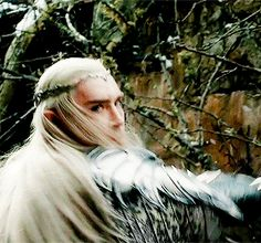 #LeePace as Thranduil in The Hobbit: The Battle of the Five Armies.